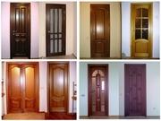 Изготовим деревянные двери любой сложности.